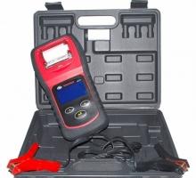 ANALISADOR DE BATERIAS 6 A 12V COM DISPLAY LCD E IMPRESSORA TÉRMICA DM FERRAMENTAS-DM670